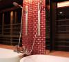 名雕装饰设计-纯水岸三居室文艺雅居-卫生间