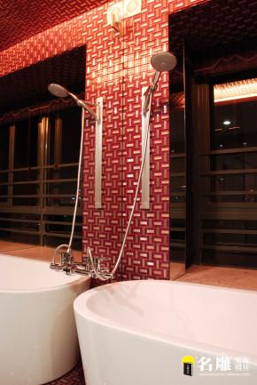 现代 三居 文艺青年 名雕装饰 个性家装 卫生间图片来自名雕装饰设计在现代风格-260平三居室文艺家装的分享