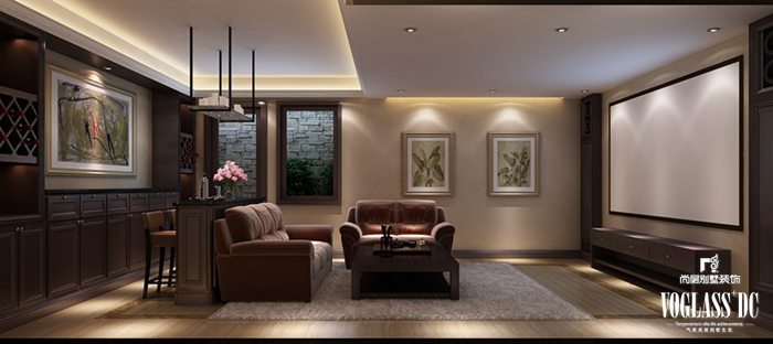 简约 别墅 白领 客厅 卧室 餐厅 影音室 其他图片来自北京别墅装修案例在简约大气国际范的分享