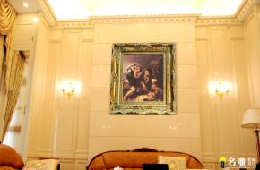 欧式 简欧 三居 白富美 名雕装饰 宏发领域 其他图片来自名雕装饰设计在简欧风格-205平三居室高档家装的分享