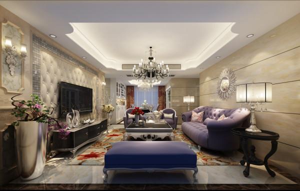 温馨的淡黄色是氛围,高雅的紫色为主基调,高层次的天花吊顶,高端、奢华,一览眼底。