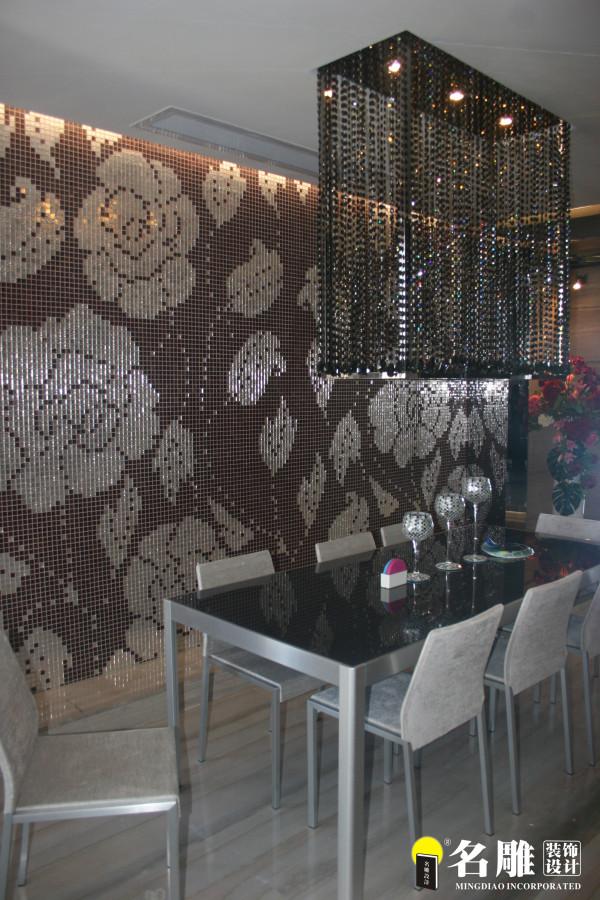 名雕装饰设计-香蜜湖一号三居室-现代餐厅
