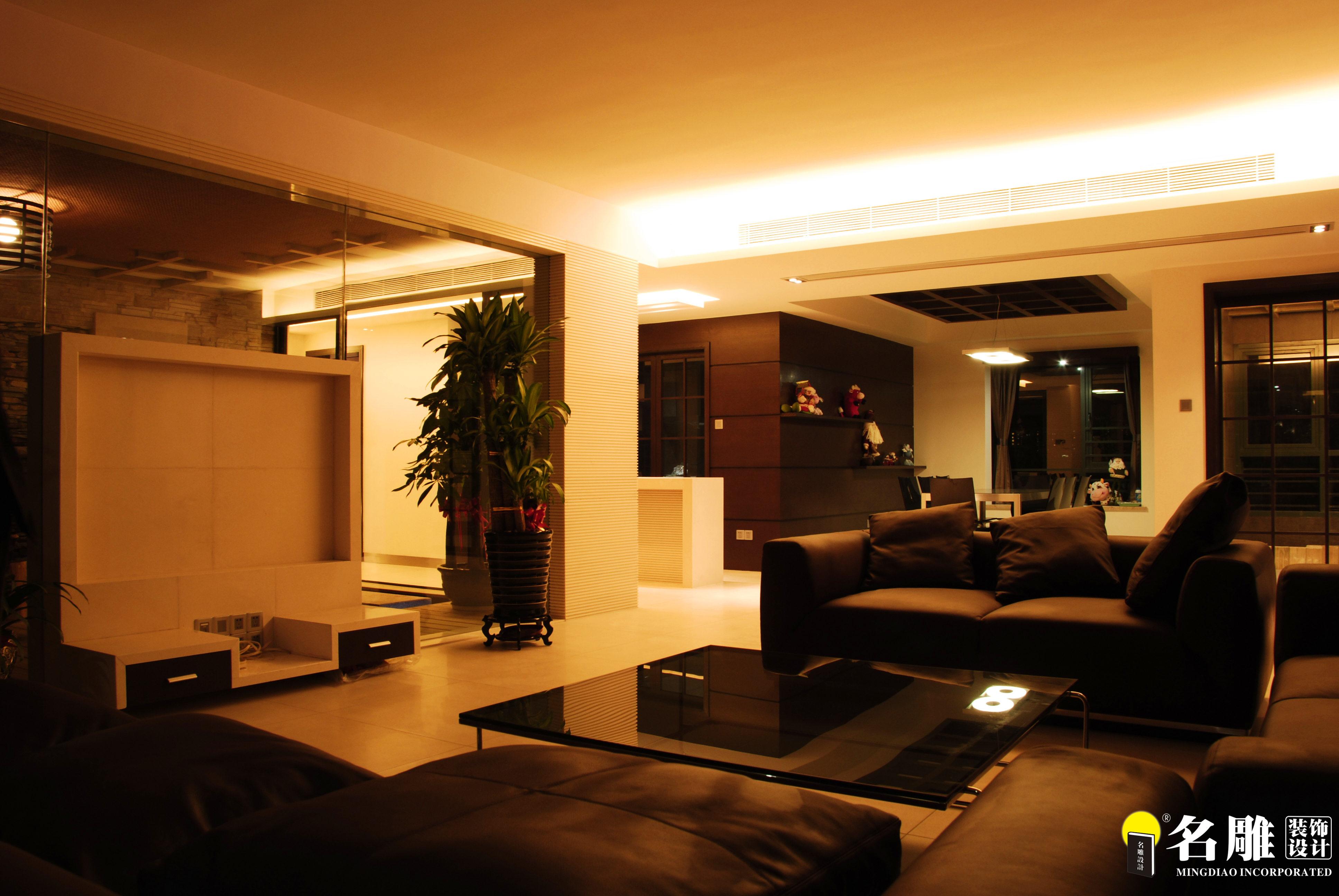 现代 三居 文艺青年 名雕装饰 个性家装 客厅 客厅图片来自名雕装饰设计在现代风格-260平三居室文艺家装的分享