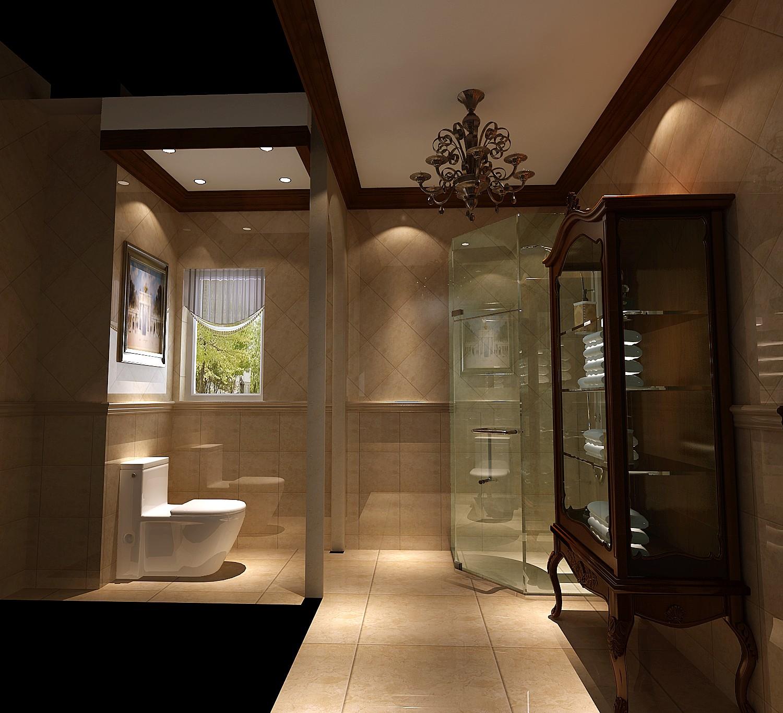 卫生间图片来自专业别墅设计工作室在龙湖香醍溪岸的分享