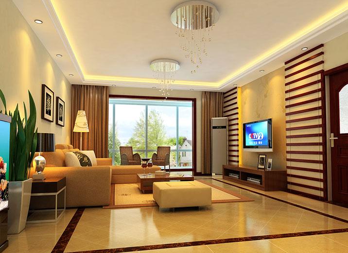 简约 欧式 三居 白领 80后 小资 时尚 繁华 温馨 客厅图片来自北京实创装饰石头在世华水岸小区简欧风格三居室的分享