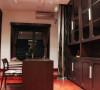 名雕装饰设计-纯水岸三居室文艺雅居-书房