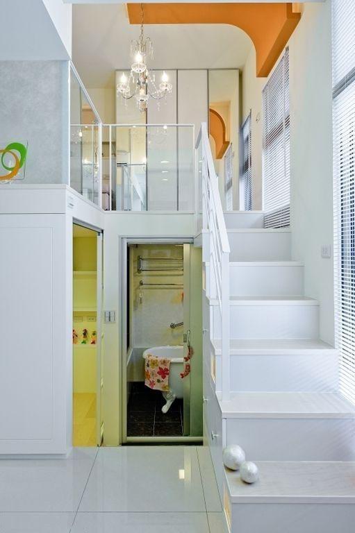 二居 loft图片来自哈迪斯CIH在35平超紧凑loft装修的分享