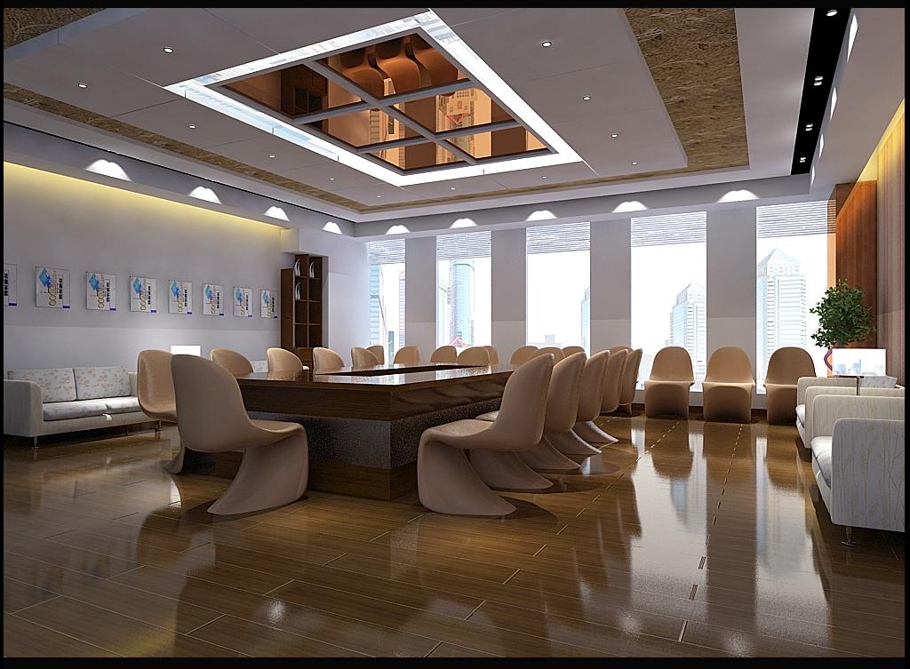 会议室图片来自工长--蒯锐在装饰案例的分享