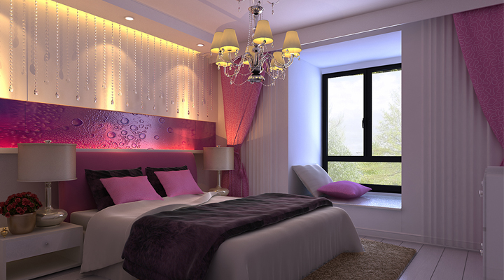 简约 二居 白领 收纳 80后 小资 现代时尚 舒适和谐 卧室图片来自北京实创装饰石头在山水汇豪现代简约两居室的分享