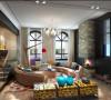 客厅不是很大,但设计师也能运用的炉火纯青