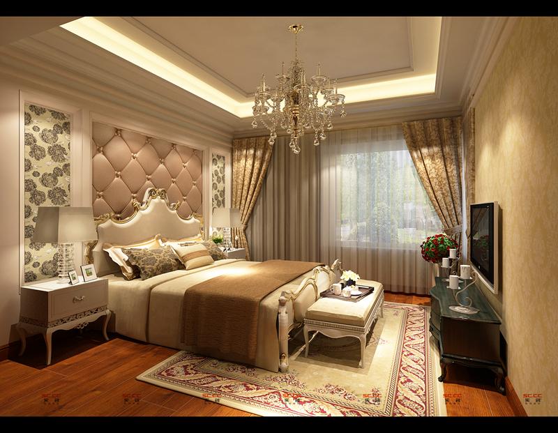 欧式 三居室 收纳 创意 卧室图片来自成都实创装饰在皇室港湾的分享