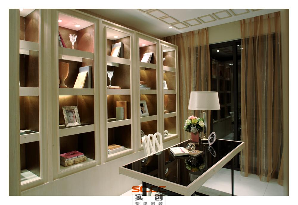 书房图片来自成都实创装饰在都市下繁华的夜空的分享