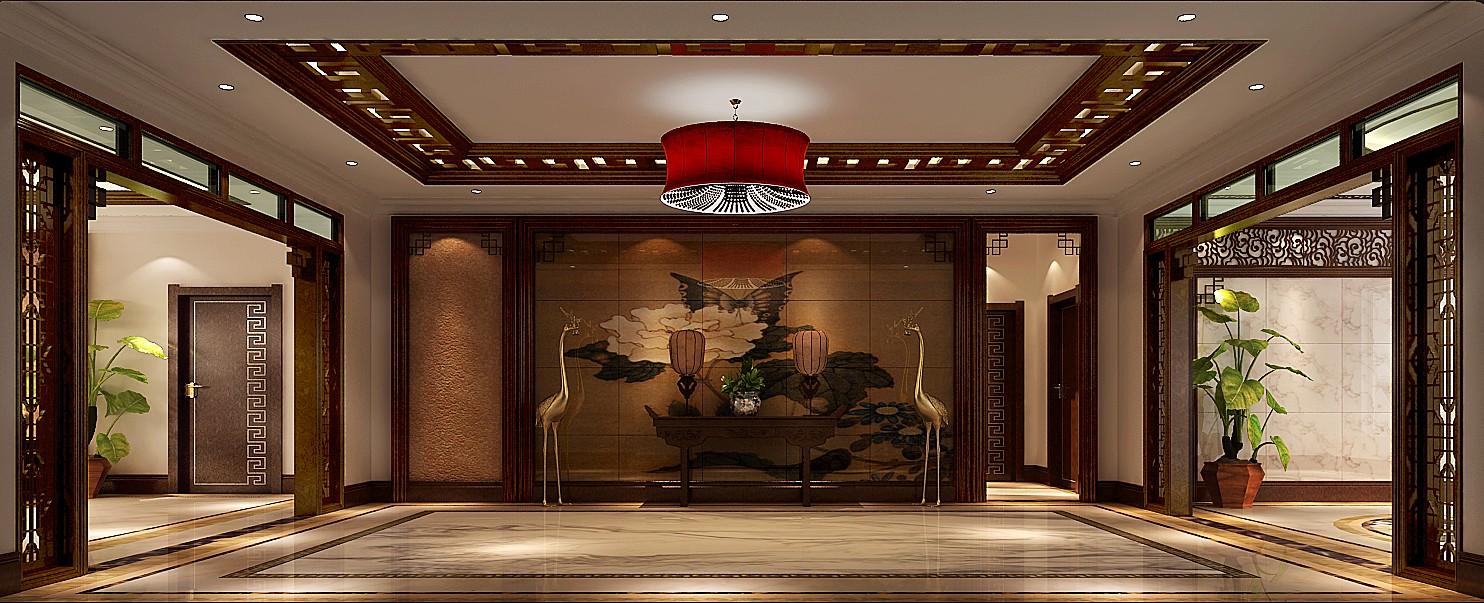 其他图片来自专业别墅设计工作室在新中式风格装修的分享