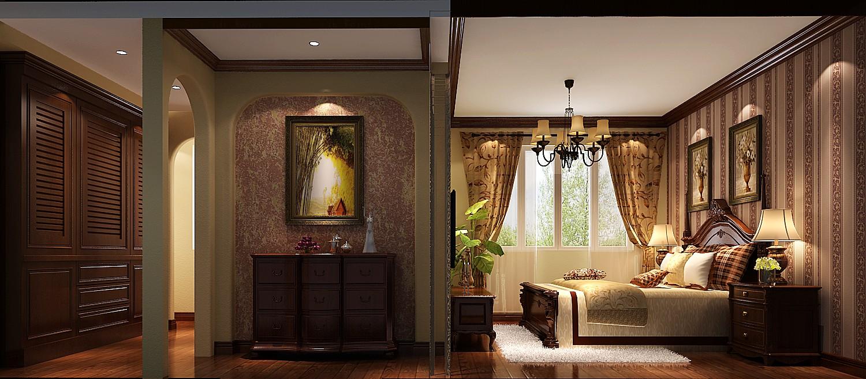 卧室图片来自专业别墅设计工作室在托斯卡纳风格的分享