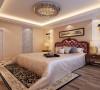 卧室背景的灯饰设计具有西方风情的造型,比如壁灯,在整体明快、简约、单纯的房屋空间里,传承着西方文化底蕴的壁灯静静泛着影影绰绰的灯光,朦胧、浪漫之感油然而生。