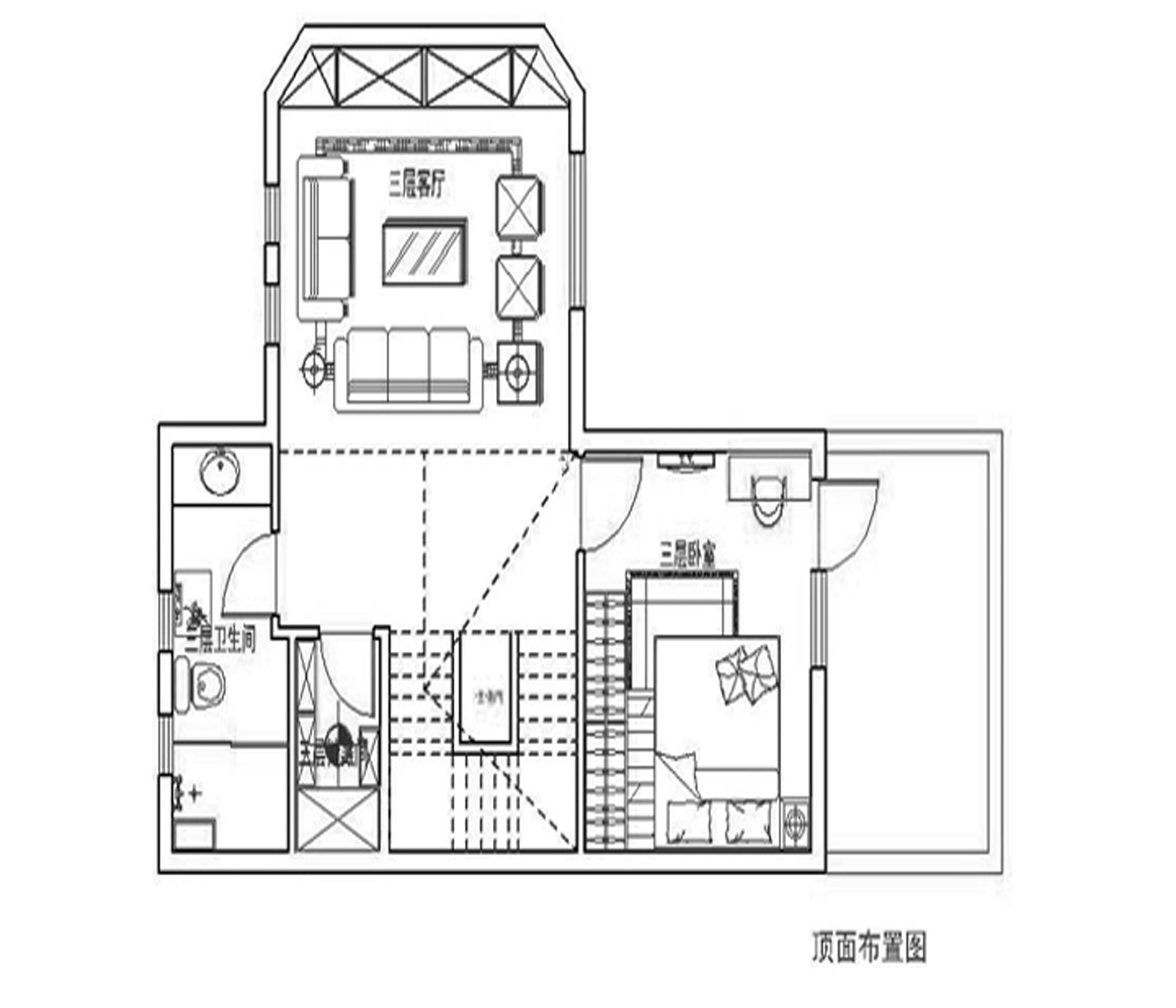 欧式 别墅 白领 旧房改造 80后 小资 户型图图片来自实创装饰百灵在精致别墅220欧式风格孔雀城的分享