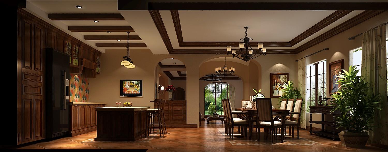 餐厅图片来自专业别墅设计工作室在远洋傲北的分享