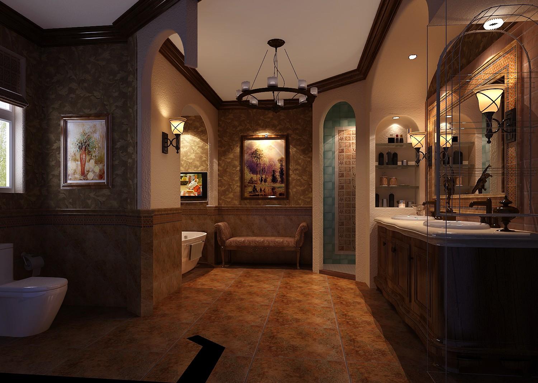 卫生间图片来自专业别墅设计工作室在远洋傲北的分享