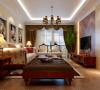 客厅作为待客区域,要求简洁明快不失大气,同时装修较其它空间要更明快光鲜,不要过多累赘复杂的造型,体现了主人的内蕴品性。