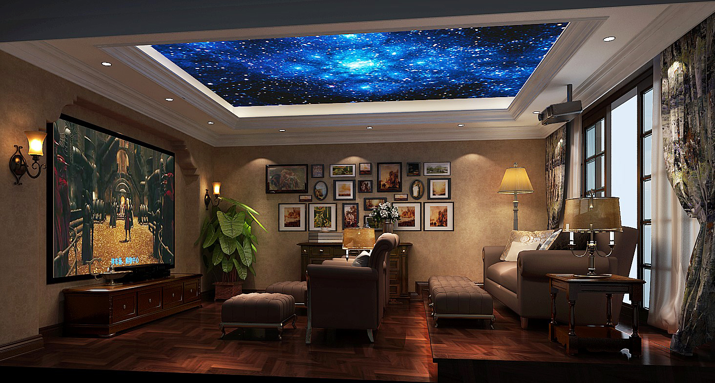 其他图片来自专业别墅设计工作室在远洋傲北别墅装修设计案例的分享