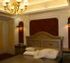 名雕丹迪设计-宏发领域别墅-欧式风格主卧室