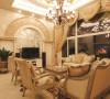 名雕装饰设计-纯海岸复式楼阁-欧式客厅