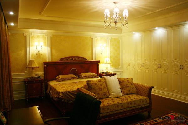 名雕丹迪设计-凤凰谷别墅-混搭风卧室