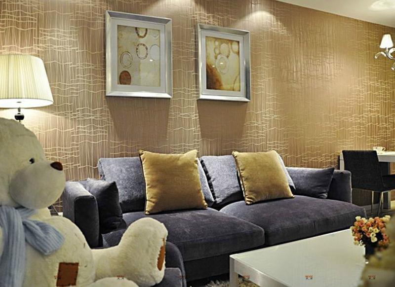 实创装饰 一居室 储藏 收纳 客厅图片来自成都实创装饰在80后小夫妻携手共筑温馨爱巢的分享