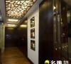 名雕装饰设计-东方尊峪三居-现代中式过道