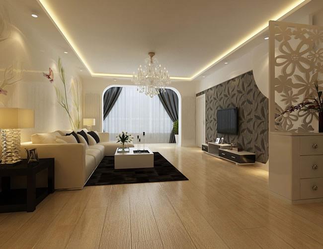 简约 现代 客厅图片来自北京世家装饰工程有限公司在新新怡园 现代的分享