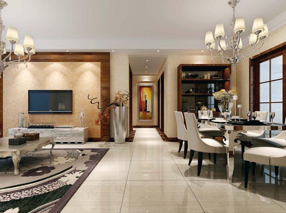 欧式 三居 客厅图片来自合肥川豪装饰装修在蓝鼎海棠湾128平米简欧风格的分享