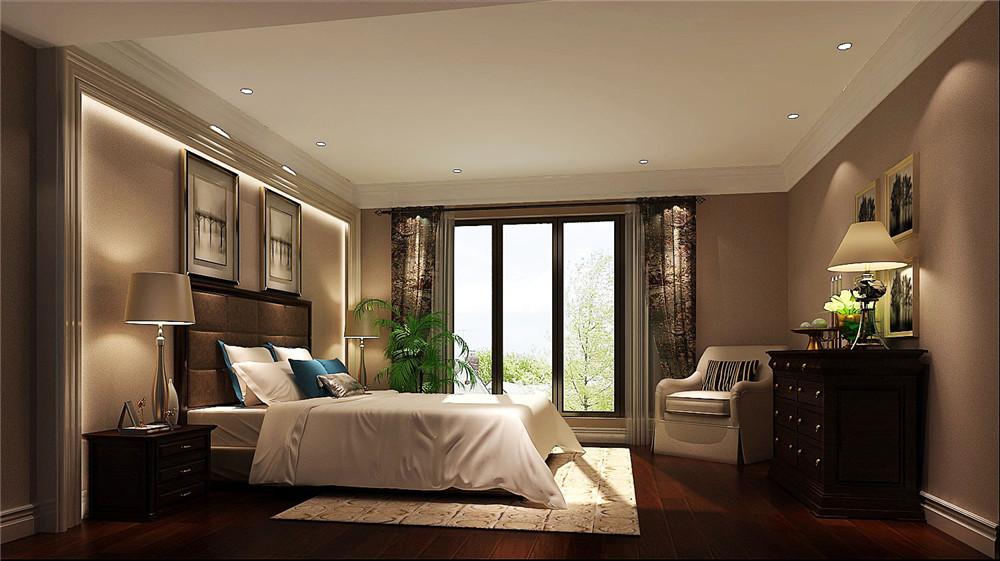 卧室图片来自专业别墅设计工作室在托斯卡纳风格别墅装修的分享