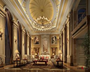 欧式 别墅 高富帅 白富美 公主房 名雕丹迪 兰乔圣菲 客厅 客厅图片来自名雕丹迪在欧式古典—500平奢华别墅装修的分享