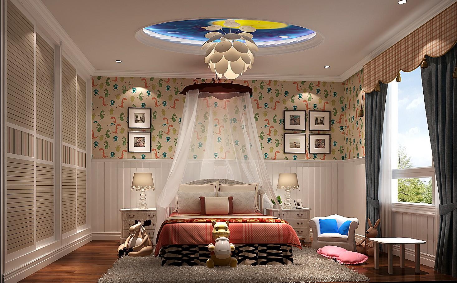 混搭 高度国际 丹麦小镇 卧室图片来自凌军在丹麦小镇360平米---高度国际的分享