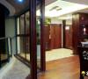名雕装饰设计-鸿景翠峰二居室雅居-中式玄关