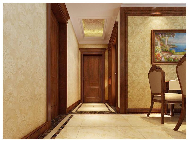 欧式风格 中豪汇景湾 三室两厅 玄关走廊 玄关图片来自超凡装饰季国华在中豪汇景湾装修效果图的分享