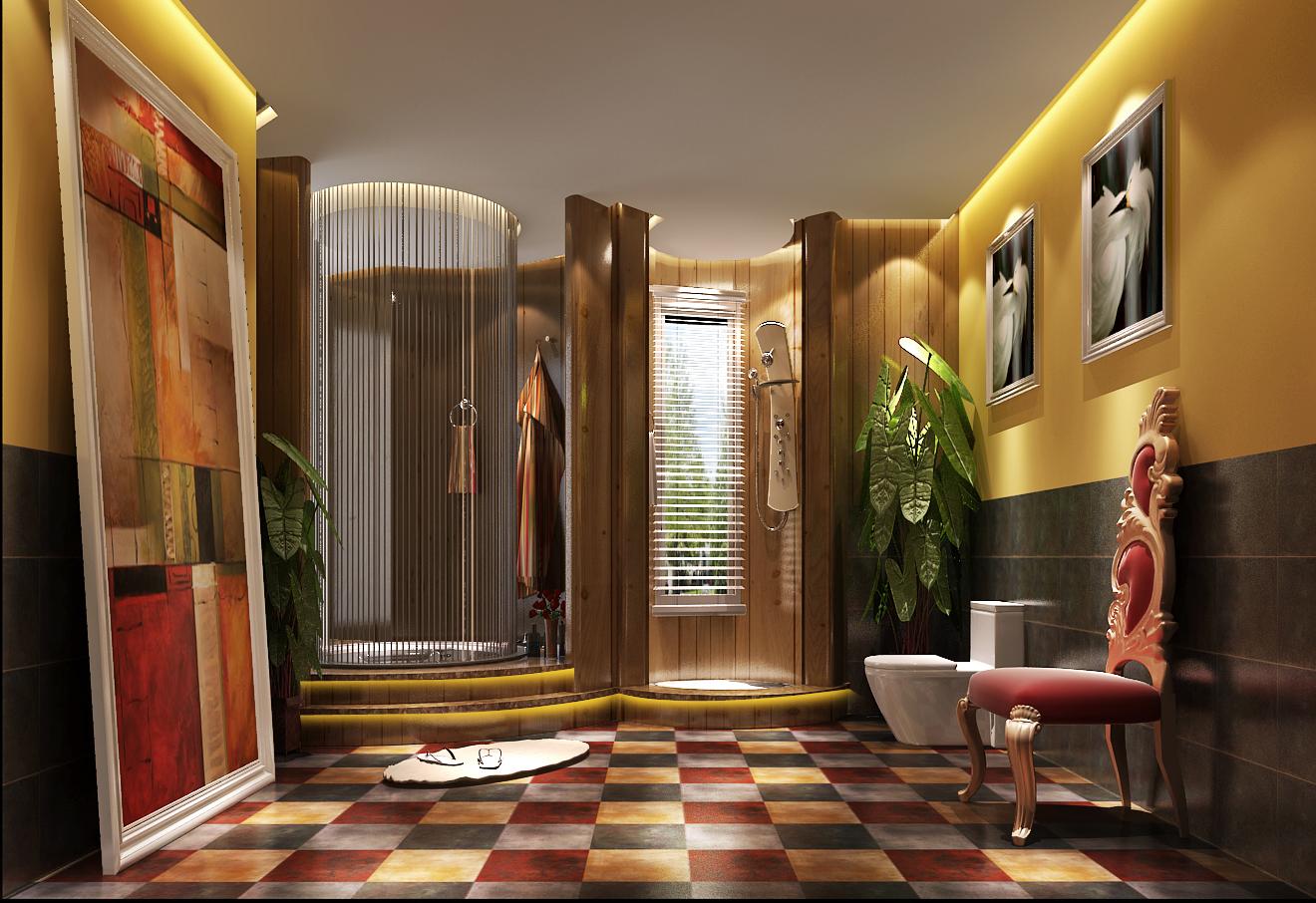 欧式 达观别墅 高度国际 卫生间图片来自凌军在达观别墅---高度国际的分享