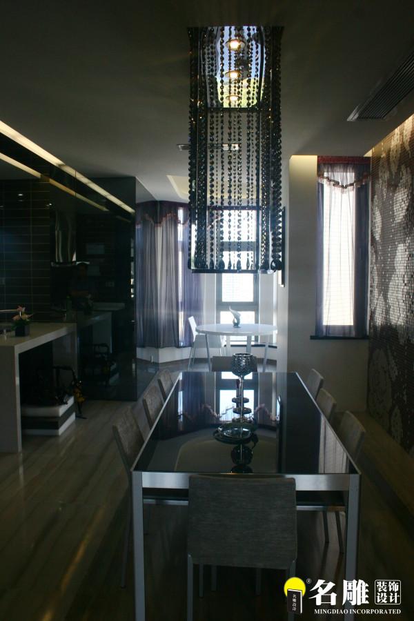 名雕装饰设计-香蜜湖一号三居室-现代厨房