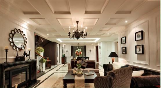 武汉业之峰 装修设计 别墅设计 新古典风格 欧式 装修环保 客厅图片来自猫咪爱吃鱼在暖色庄园的分享