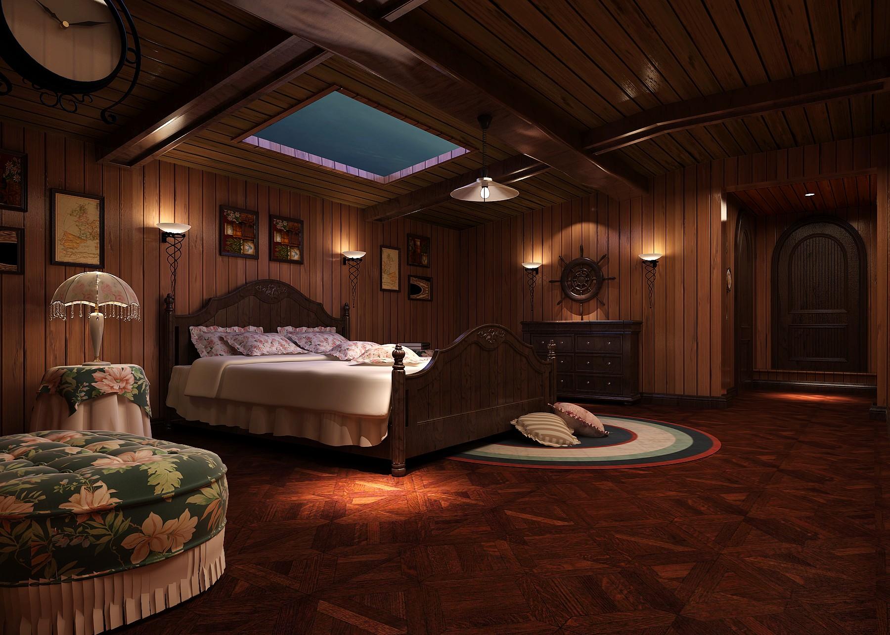 卧室图片来自专业别墅设计工作室在远洋傲北的分享