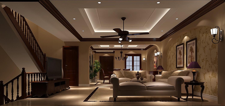 客厅图片来自专业别墅设计工作室在龙湖香醍溪岸的分享