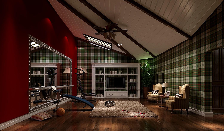 其他图片来自专业别墅设计工作室在美式风格装修的分享