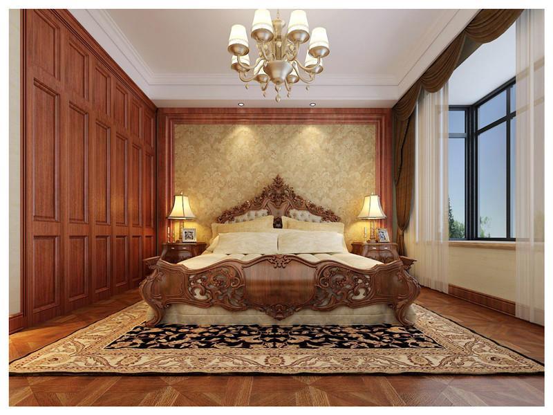 中豪汇景湾 欧式风格× 三室两厅 主卧 卧室图片来自超凡装饰季国华在中豪汇景湾装修效果图的分享