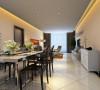 设计理念:简洁家私造型搭配个性的色彩,无论在任何角度都能体现业主的需求。亮点:白钢加上烤漆的家私。