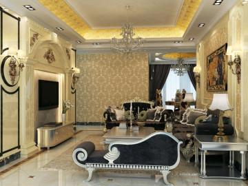 整体与客厅互相呼应,体现美观。
