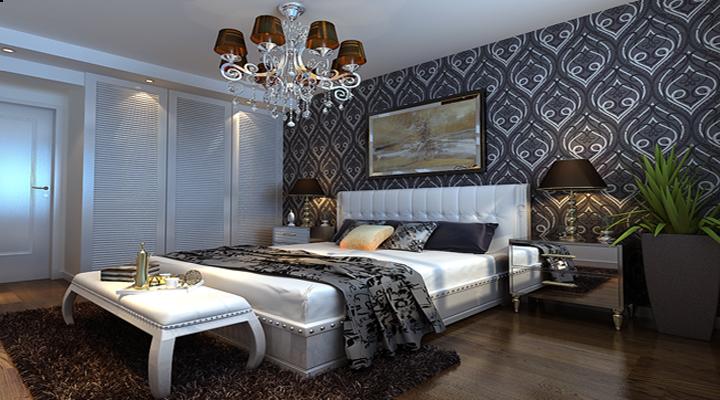 简约 二居 白领 合肥装修 简约装修 卧室图片来自合肥实创装饰李东风在两居室温馨舒适爱巢的分享