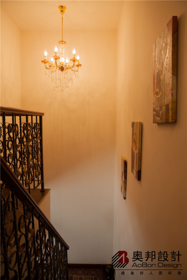 楼梯过廊设计