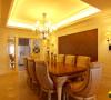 名雕装饰设计-中信红树湾三居-欧式餐厅