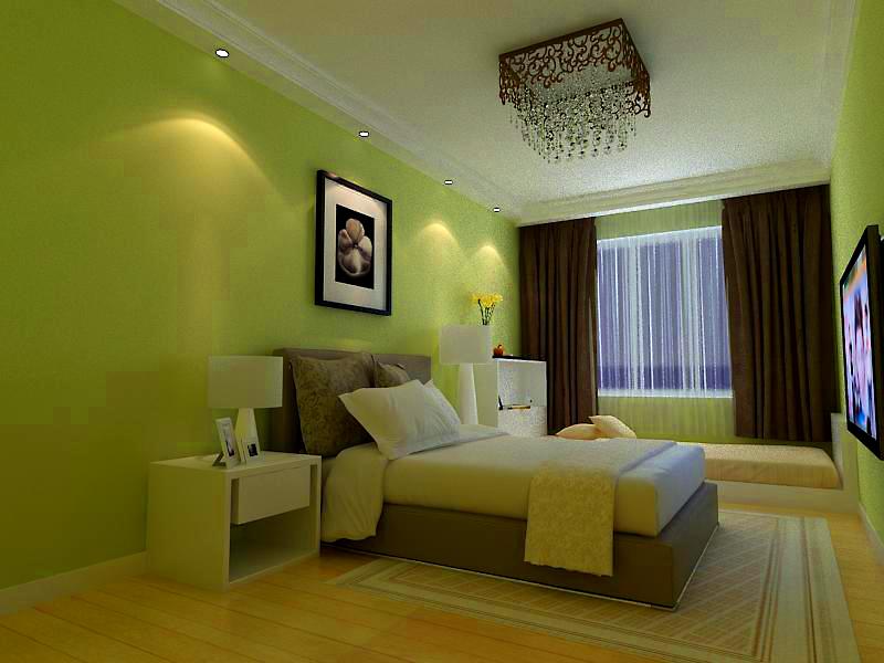 简约 二居 客厅 卧室 105平装修 装修报价 卧室图片来自实创装饰都琳在8.5万元打造105平米温馨三口之家的分享