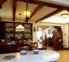 名雕丹迪设计-硅谷别墅-美式风格-墙柜
